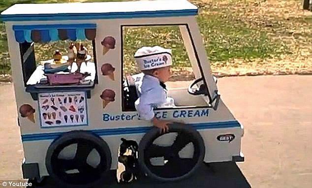 icecream truck costume