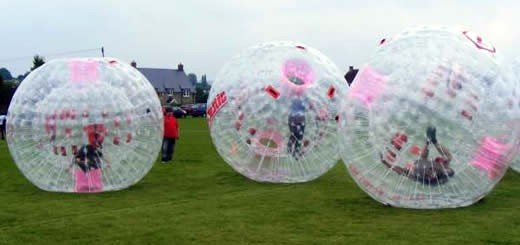 Zorb Lets People Go Zorbing Over Land And Water