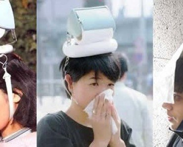 Japanese Hay Fever Hat