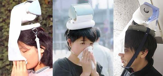 Japanese Hay Fever Hat Is A Fashion Sensation