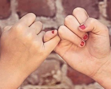 pinky swear best friends
