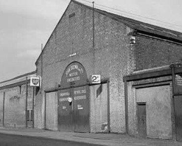 John Brown Motor Engineers Fielden Street Glasgow