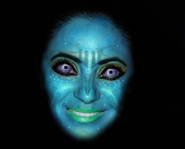 photo shopped face