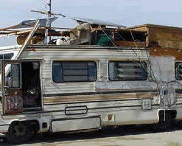 Funny Old Camper