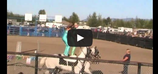 Hearts of the Wild West Show –  PGX In Prince George, B.C. [VIDEO]