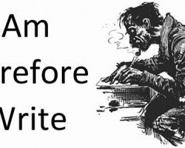 I Am Therefore I Write
