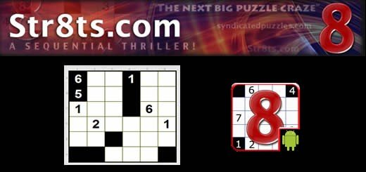 Str8ts – Roll Over Sudoku, There's A New Game In Town