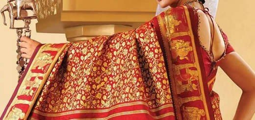 Most Expensive Silk Sari Fit For A Queen