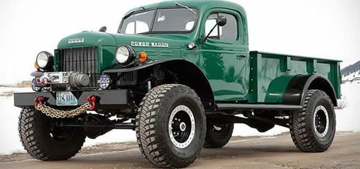 Power Wagons Ride Again – The Legacy Power Wagon
