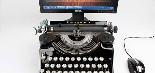 Old School Meets New School | The USB Typewriter