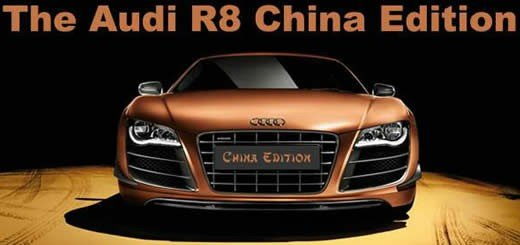 The Audi R8 China Edition