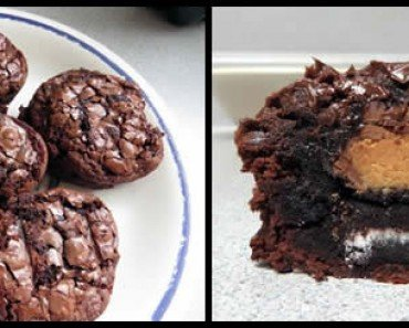 peanut butter cup brownie - feature