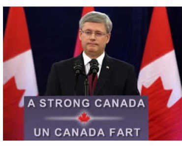 Stephen Harper Strong Canada