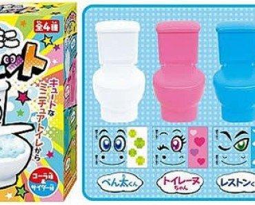 Moko Moko Mokolet Candy Toilets