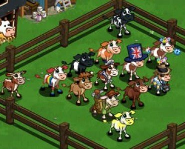 Virtual Cows | FarmVille