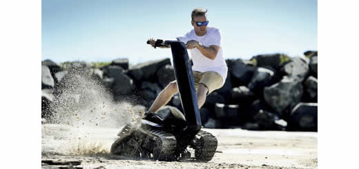The DTV Shredder – Is This The Future Of All Terrain Vehicles?