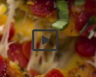Cheesy Pull-Apart Pizza Bread 2