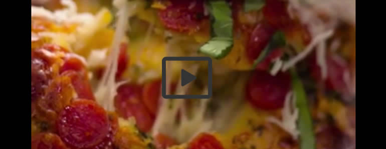 Cheesy Pull-Apart Pizza Bread