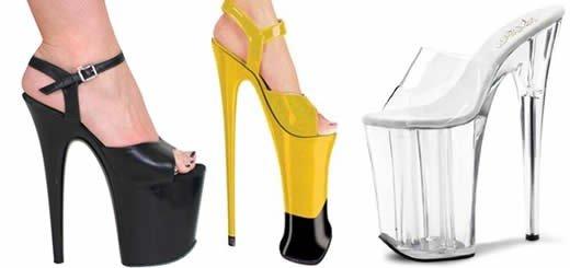 9 inch heels