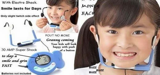 Electronic Smile Enhancer