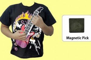 Electronic Guitar T-Shirt Lets You Strum And Hum