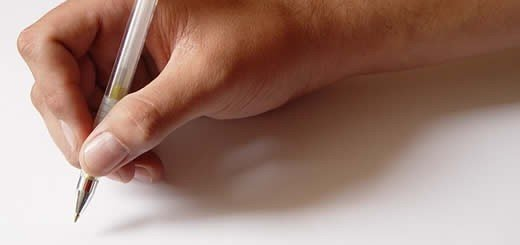 Writing On Paper