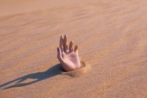 True or False? You Cannot Get Out Of Quicksand