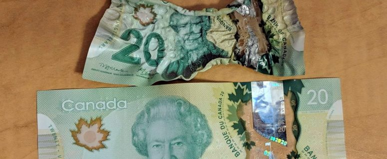 Canadian Money Melts