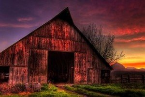 The Old Red Barn | By Mel McConaghy