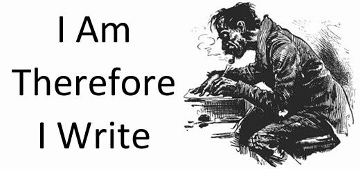 I Am Therefore I Write