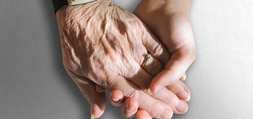 Elderly Hand Holding