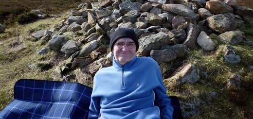 Colin Black Resting