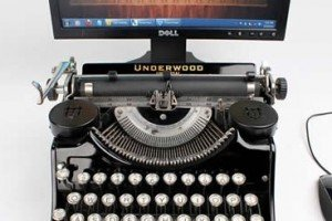 Digital Typewriter Connects The Past With Fast