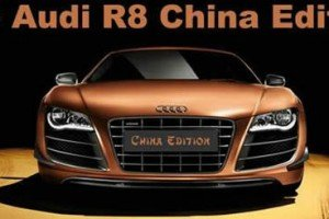 Audi R8 China Edition Is Dressed To Impress