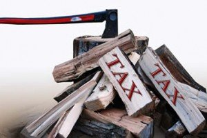 It Is Time To Take Axes To Taxes