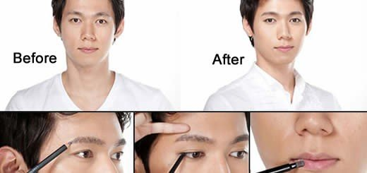 Korean Men Makeup