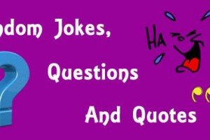 Random Jokes | Questions | Quotes | Part 1