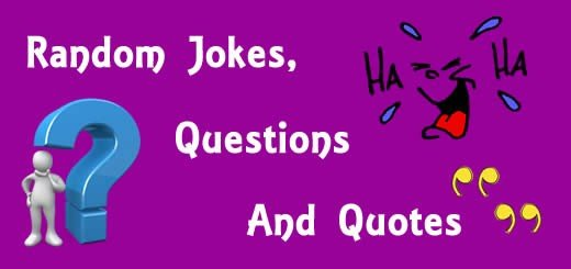 Random Jokes, Questions and Quote Cover