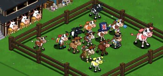 Virtual Cows | FarmVille