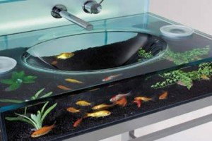 Love Fish? Then The Moody Aquarium Sink Is For You!