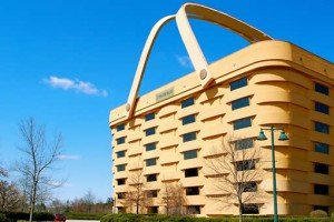 Giant Picnic Basket Office Building
