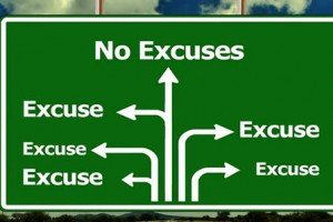 Enough Of The Excuses