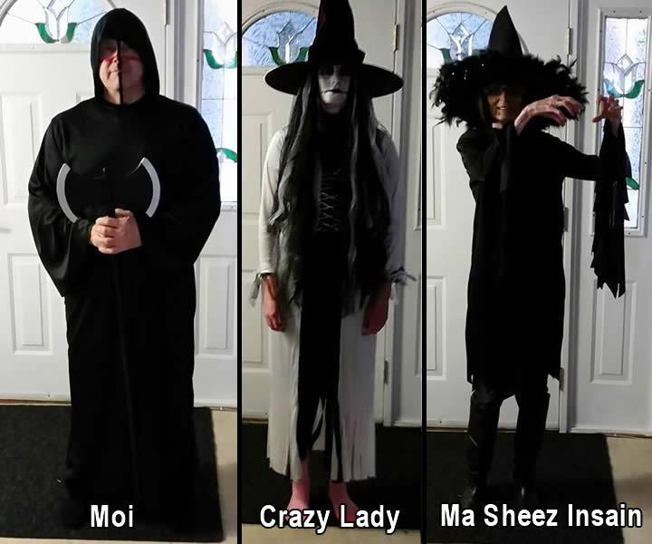 3 Halloween Costumes