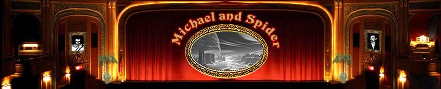 Michael and Spider Website Banner